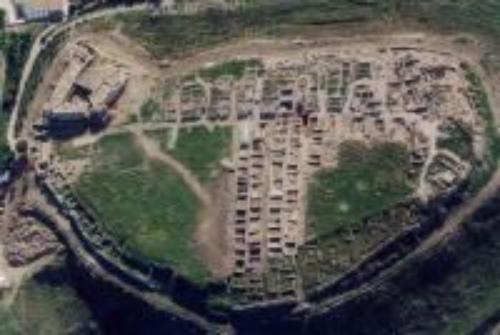 aree archeologiche viste dall'alto