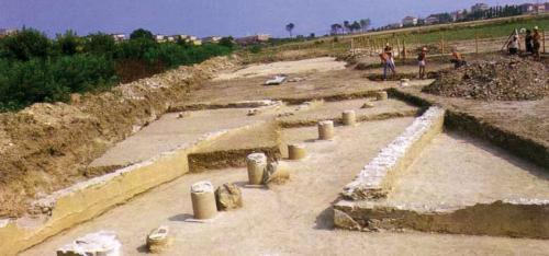 Area archeologica romana città di Potentia