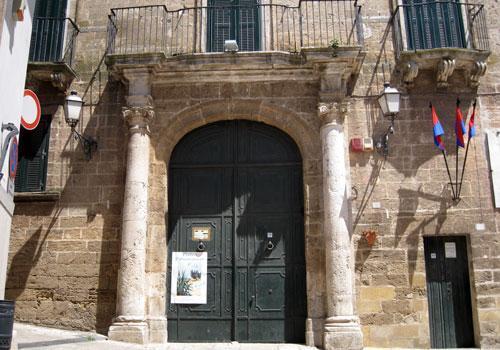Facciata Palazzo Martini
