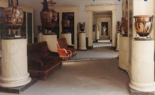 interno del Museo Nazionale Jatta