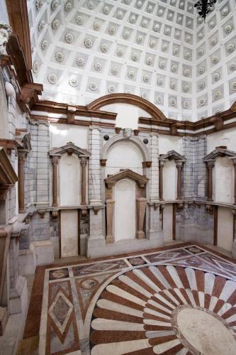 Palazzo Grimani, particolari lunetta apollo 3