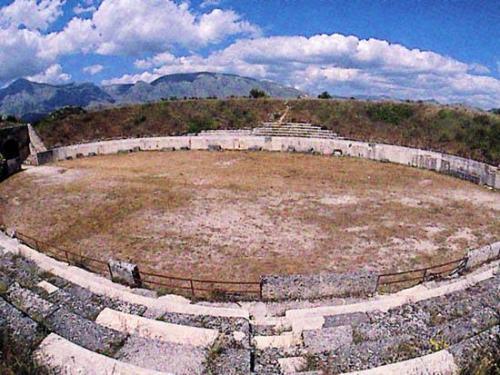 """Area Archeologica di """"Alba Fucens"""""""